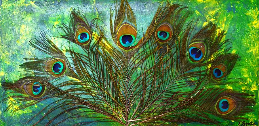 source of image: http://images.fineartamerica.com/images-medium-large/peacock-feather-1-of-3-evelyn-spatz.jpg